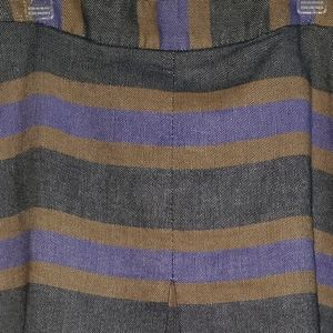 Boden Skirt Mustard, Lavender & Grey